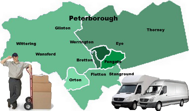 Przeprowadzki Peterborough - Northborough - PE6 - Mapa